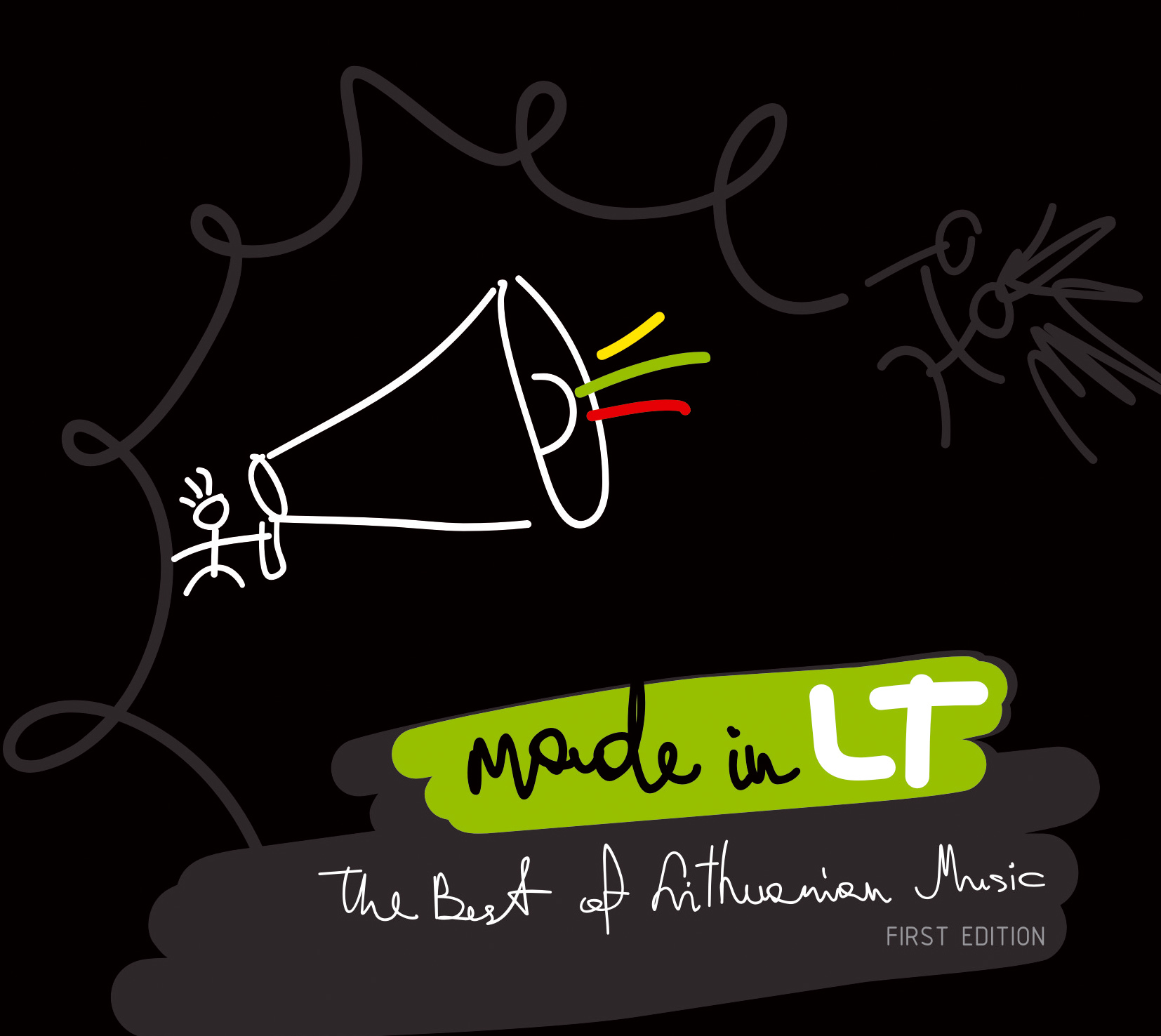 """""""Made in LT: The Best of Lithuanian Music (First Edition)"""" CD, 2007"""